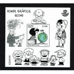 2017 Spagna Quino fumetto Mafalda Foglietto MNH/**