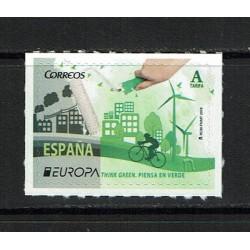 2016 Spagna Europa Think Green MNH/**