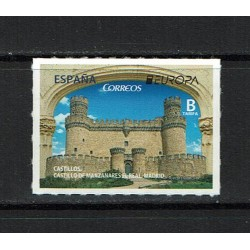 2017 Spagna Europa Castelli MNH/**