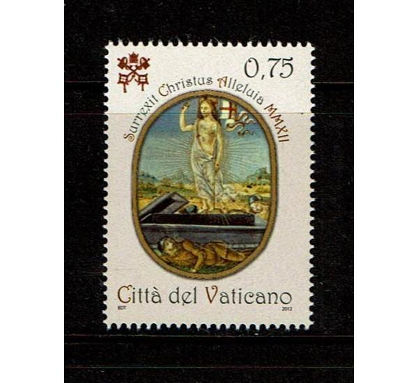 2012 Vaticano Pasqua 2012 MNH/**