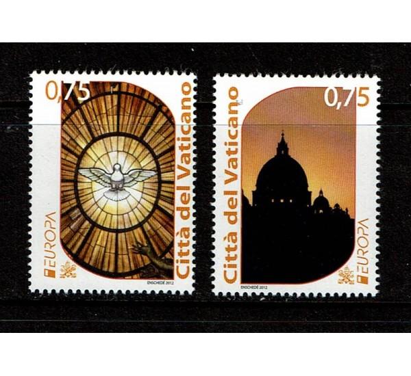 2012 Vaticano serie Europa MNH/**