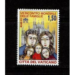 2012 Vaticano Incontro mondiale delle famiglie MNH/**