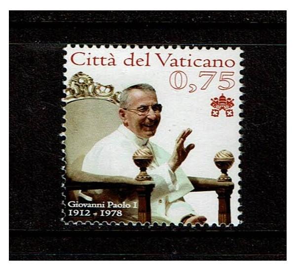 2012 Vaticano Papa Giovanni Paolo I