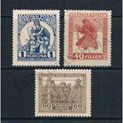 1920 Ungheria serie completa MH - Prigionieri di guerra