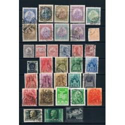 Ungheria lotto 34 francobolli misto periodo classico