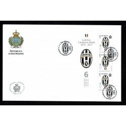 2017 San Marino FDC Juventus campione