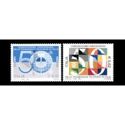 2004 50º anniversario televisione italiana MNH/**