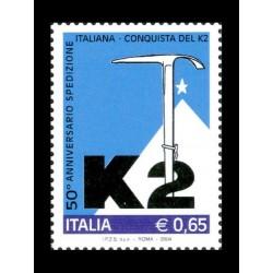 2004 50º anniversario scalata italiana K2 MNH/**
