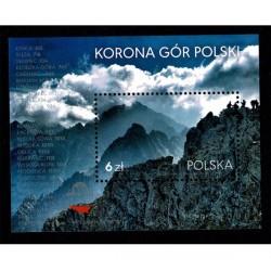 2017 Polonia Montagne polacche foglietto MNH/**