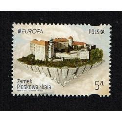 2017 Polonia serie Europa i Castelli MNH/**