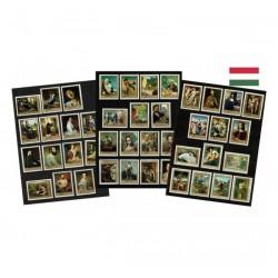 Ungheria francobolli tematica Dipinti MNH/**