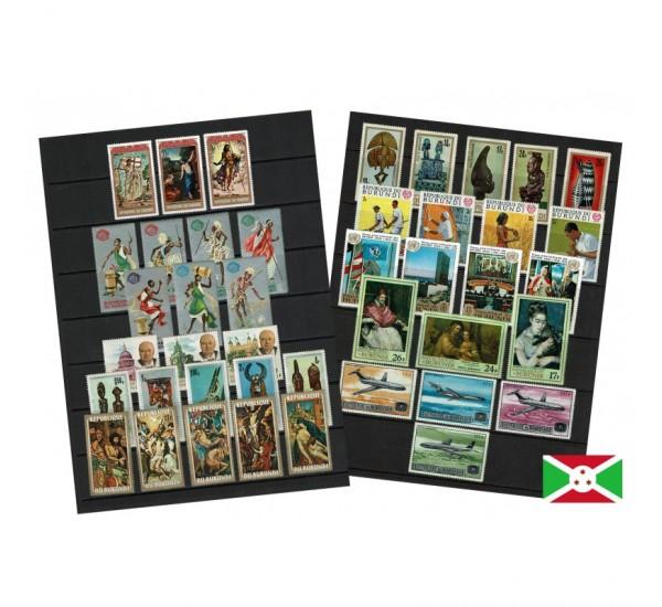 Repubblica del Burundi 10 serie complete MNH/**