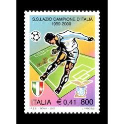 2000 Lazio campione d'Italia 1999-2000 MNH/**