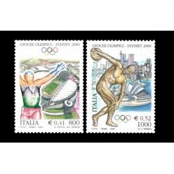 2000 Giochi olimpici Sydney 2000 MNH/**