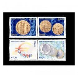 2002 Introduzione moneta unica europea MNH/**