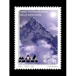 2002 Anno internazionale delle montagne MNH/**