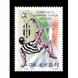 2002 Juventus campione d'Italia 2001-2002 MNH/**