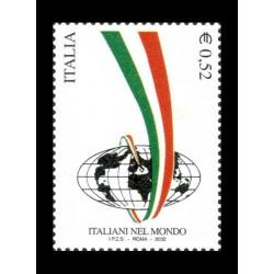 2002 Italiani nel mondo MNH/**
