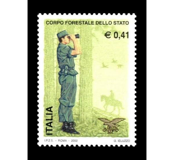 2002 Corpo forestale dello stato MNH/**