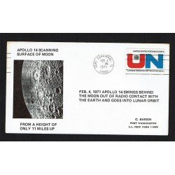 Cover Space 1971 Apollo 14 Surface Moon Cape Canaveral