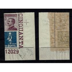 1924 Francobolli Pubblicitari 50c De Montel Numero Tavola