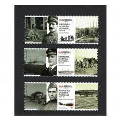 2017 Portogallo WWI Guerra Mondiale MNH/**