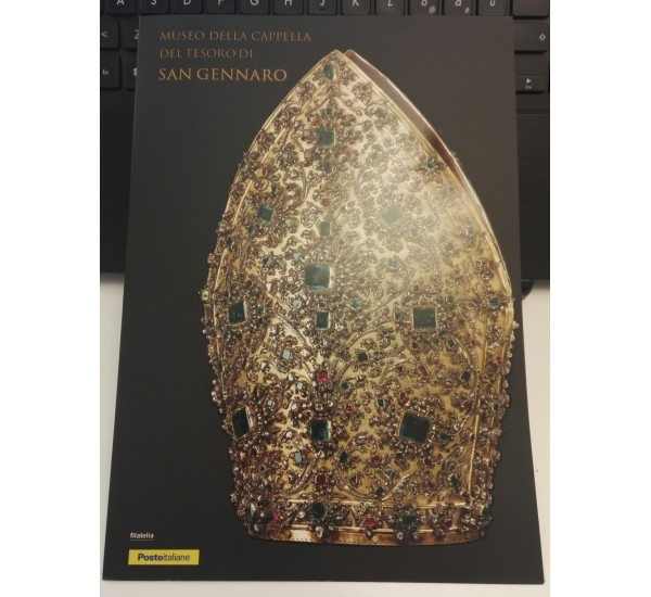 2017 Folder San Gennaro tiratura 3000 pezzi