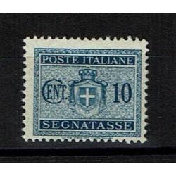 1945 Segnatasse Luogotenenza 10c Sas.86 MNH/**