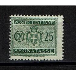 1945 Segnatasse Luogotenenza 25c Sas.87 MNH/**