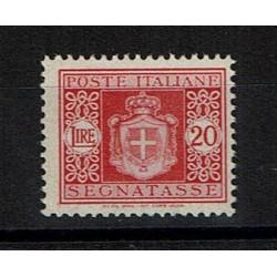 1945 Segnatasse Luogotenenza 20 Lire Sas.96 MNH/**