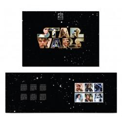 2017 Gran Bretagna Star Wars Folder speciale 40° anniversario