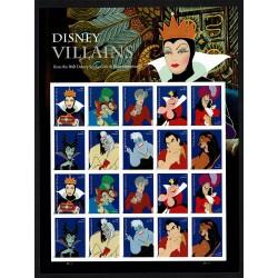 2017 Stati Uniti Disney Villains minifoglio