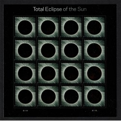 2017 Stati Uniti Eclissi di Sole termosensibile