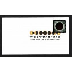 2017 Stati Uniti Eclissi di Sole FDC termosensibile