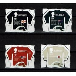 2017 Guernsey Sepac Unusual Stamp forma di maglia