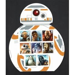 2017 Gran Bretagna espositore Star Wars BB-8
