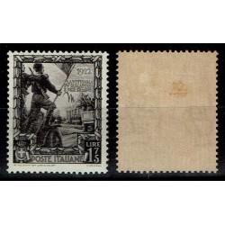 1938 Regno Proclamazione Impero 1,75 Lire sas.446 MH/*