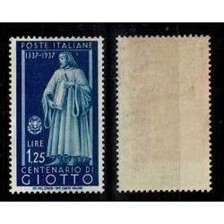 1937 Centenari Uomini Illustri Giotto Sas.432 MH/*