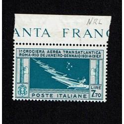1930 PA Crociera transatlantica di Balbo Lire 7,70 MNH/**