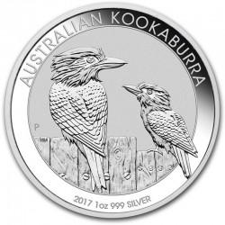 2017 Australian KOOKABURRA - 1 Oz Argento 999
