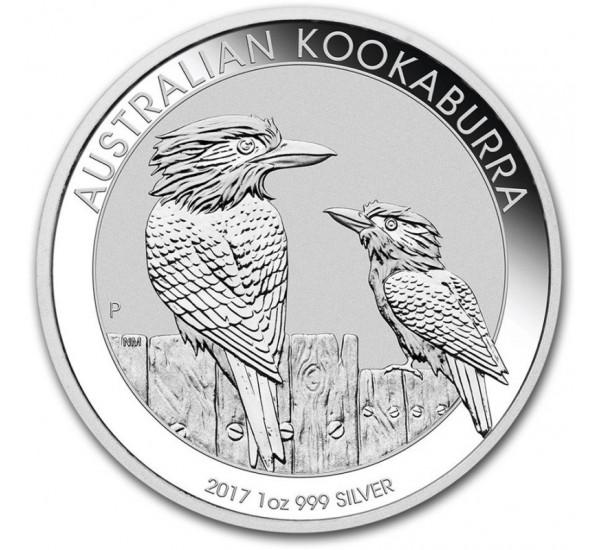 Australian KOOKABURRA 2017 - 1 Oz Argento