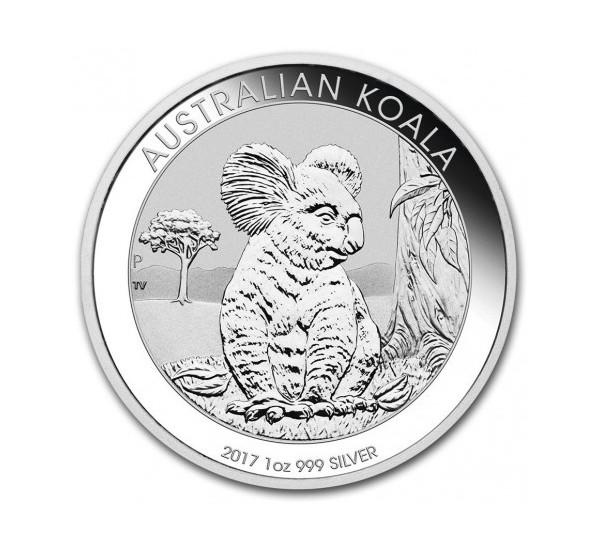 2017 Australian KOALA - 1 Oz Argento 999