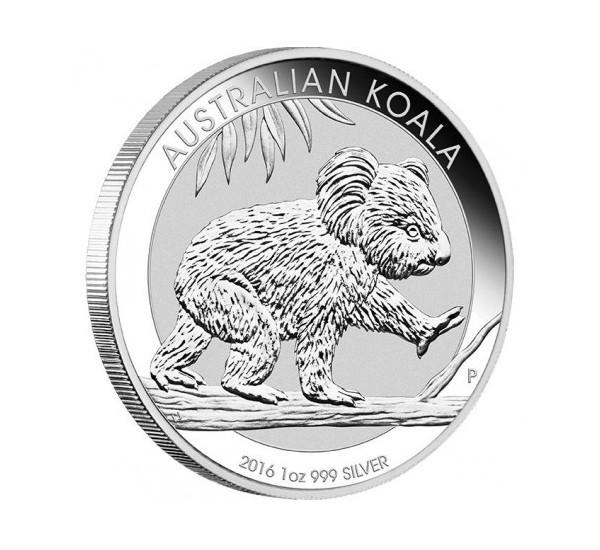 2016 Australian KOALA - 1 Oz Argento 999