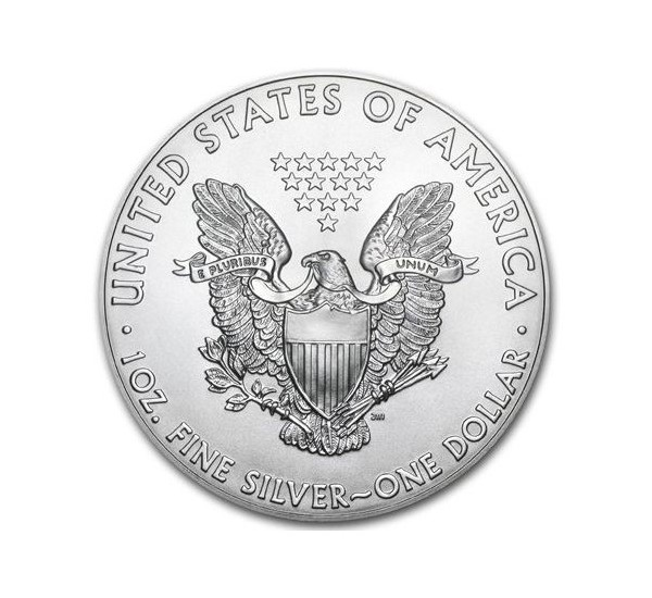 2017 EAGLE Liberty Usa - 1 Oz Argento 999