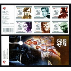 2017 Portogallo 40° anniversario Star Wars libretto adesivi