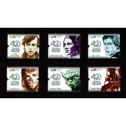 2017 Portogallo 40° anniversario Star Wars serie