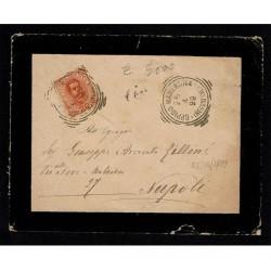 1899 lettera da Oppido Mamertina (Reggio Calabria) a Napoli