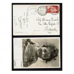 1938 Cartolina da Montefiascone (Viterbo) a Roma