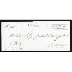 1840 Prefilatelica da Bardolino a Venezia