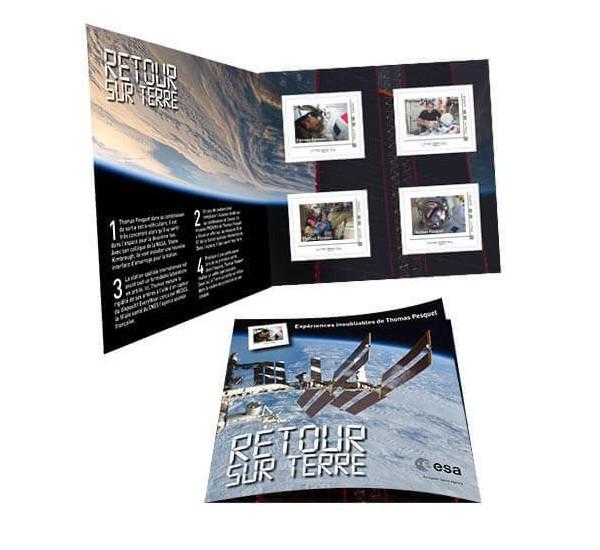 2017 Francia Libretto Thomas Pesquet missione spaziale